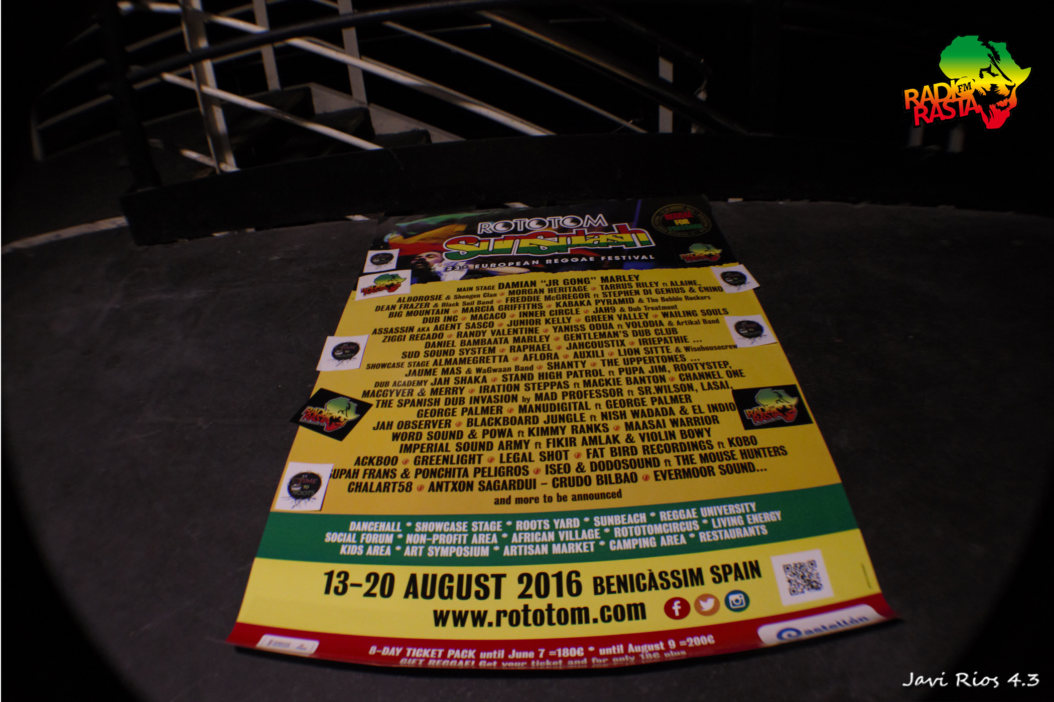 Cartel Rototom Sunsplash 2016