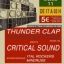 THUNDER CLAP SOUND SYSTEM meets CRITICAL SOUND