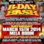 Mr. CC`s Birthday Bash 2014. Orlando, FL USA. Saturday, March 15.