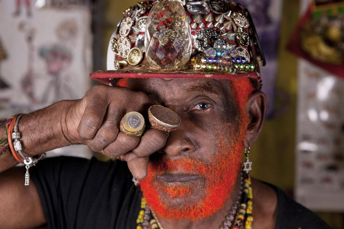 LEE 'scratch' PERRY en Zentral 24 de marzo Pamplona