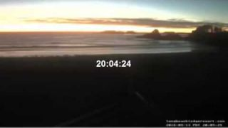 Third consecutive sunset with a new sun at Tofino Canada sept 13 2016 DaB Radio